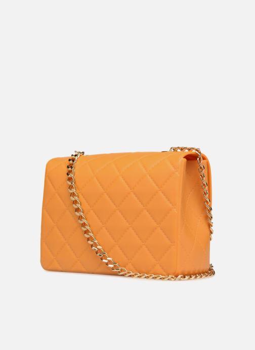 Handtaschen Designinverso Milano orange ansicht von rechts