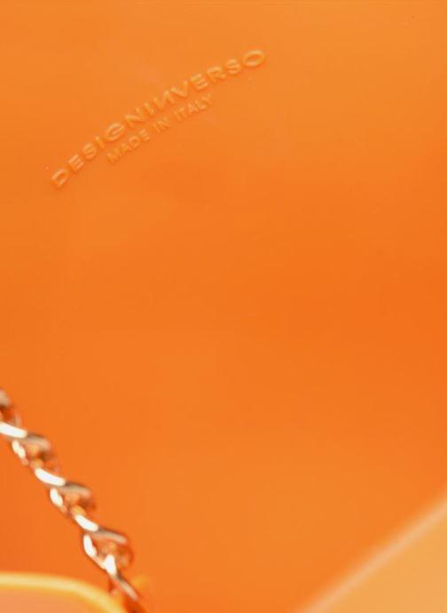 Handtassen Designinverso Milano Oranje achterkant