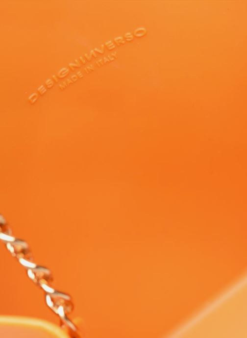 Handtaschen Designinverso Milano orange ansicht von hinten