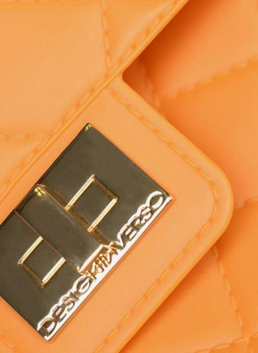 Handtaschen Designinverso Milano orange ansicht von links