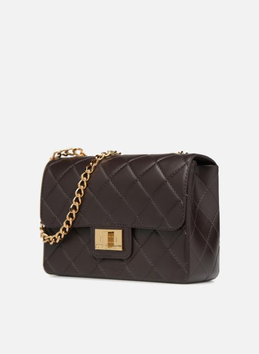 Handtaschen Designinverso Milano braun schuhe getragen
