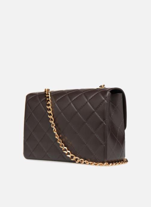 Handtaschen Designinverso Milano braun ansicht von rechts