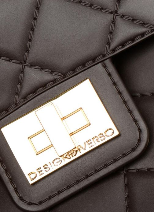 Bolsos de mano Designinverso Milano Marrón vista lateral izquierda