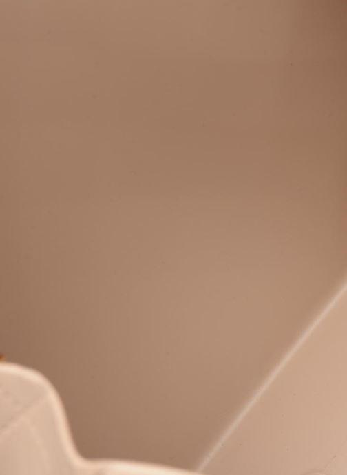 Handtassen Designinverso Milano Plus Beige achterkant