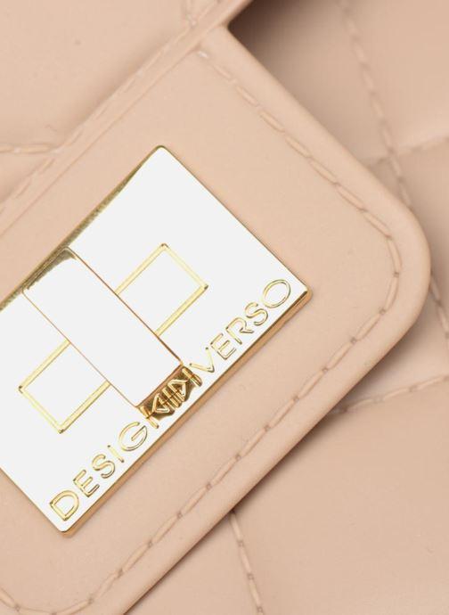 Handtassen Designinverso Milano Plus Beige links