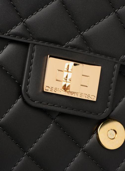 Bolsos de mano Designinverso Milano Plus Negro vista lateral izquierda