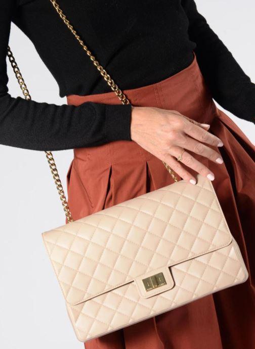 Sacs à main Designinverso Milano Plus Noir vue bas / vue portée sac
