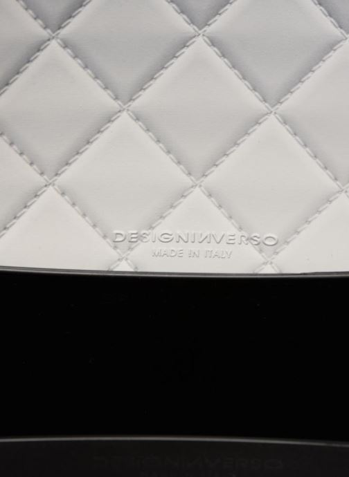 Handtassen Designinverso Taormina Grijs achterkant