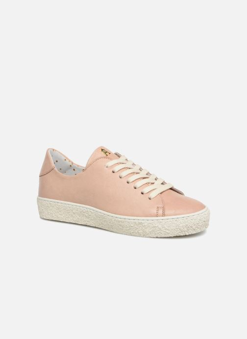 Baskets Craie Past Rose vue détail/paire