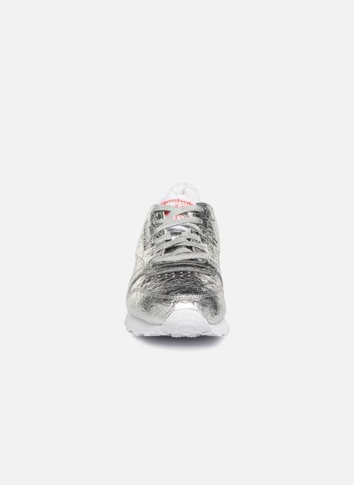 Baskets Reebok Classic Leather HD Argent vue portées chaussures
