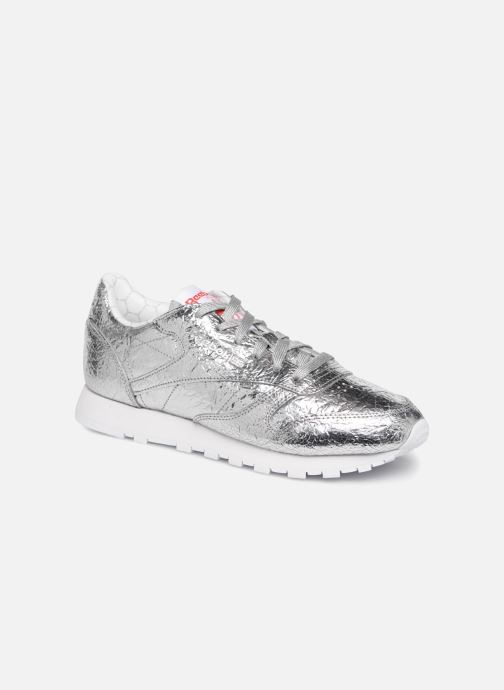 Baskets Reebok Classic Leather HD Argent vue détail/paire