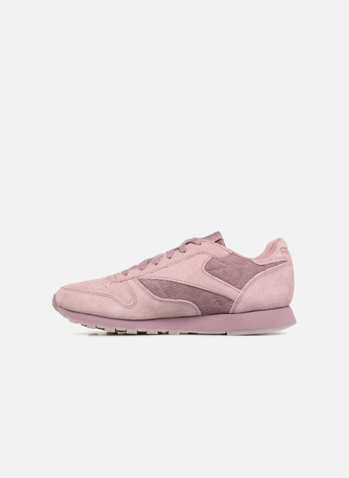 Trainers Reebok Classic Leather Lace Purple front view