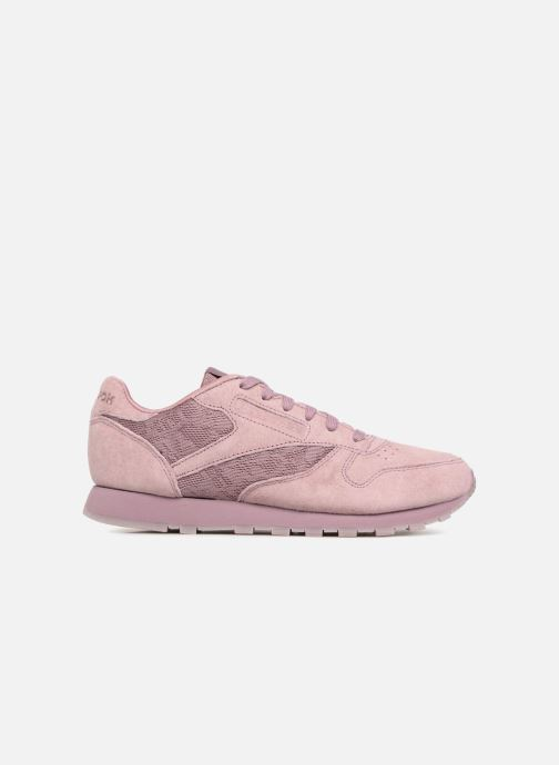 Trainers Reebok Classic Leather Lace Purple back view
