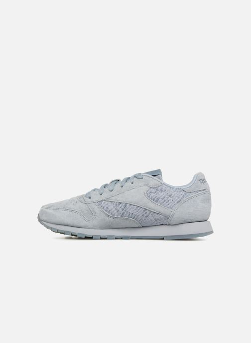 Baskets Reebok Classic Leather Lace Gris vue face
