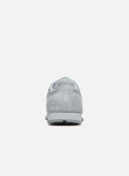 Baskets Reebok Classic Leather Lace Gris vue droite