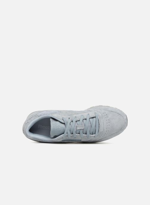 Baskets Reebok Classic Leather Lace Gris vue gauche