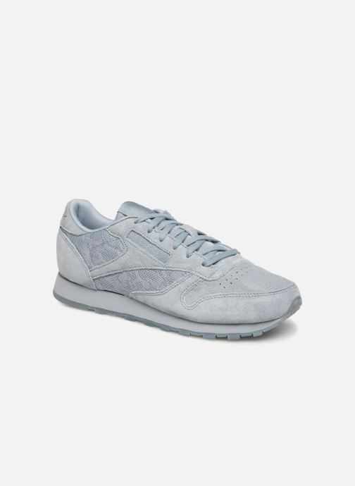 Baskets Reebok Classic Leather Lace Gris vue détail/paire
