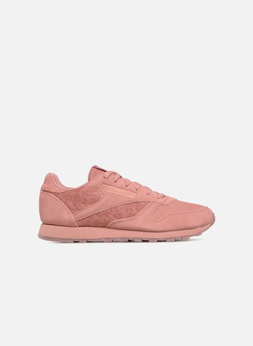 Baskets Reebok Classic Leather Lace Rose vue derrière