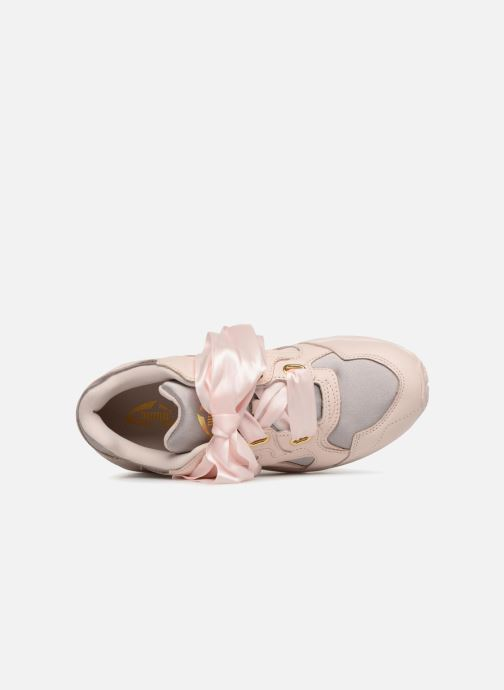 Baskets Puma Prevail Heart Satin Wn's Rose vue gauche
