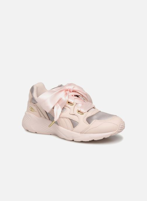 Baskets Puma Prevail Heart Satin Wn's Rose vue détail/paire