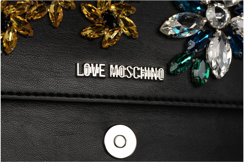 brodée Moschino Noir Love Pochette JC4320PP05KY z7w8O81
