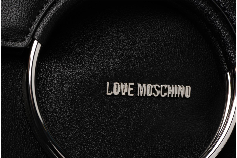 Love Noir Sac rabat noir à Moschino JC4352PP05K7 bandoulière HOHwqnrZ