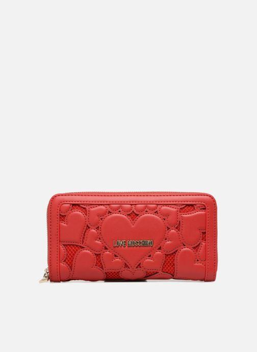 Petite Maroquinerie Love Moschino Portefeuille avec empiècements fantaisie rouge Rouge vue détail/paire