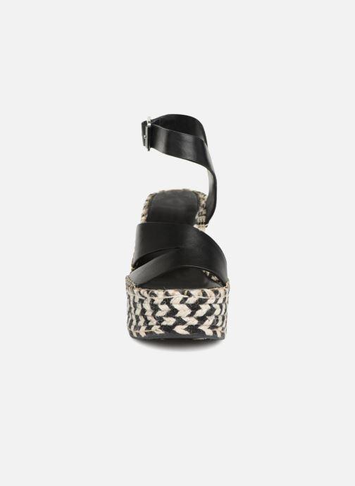Espadrilles Sigerson Morrison Espadrilles compensées noir Noir vue portées chaussures