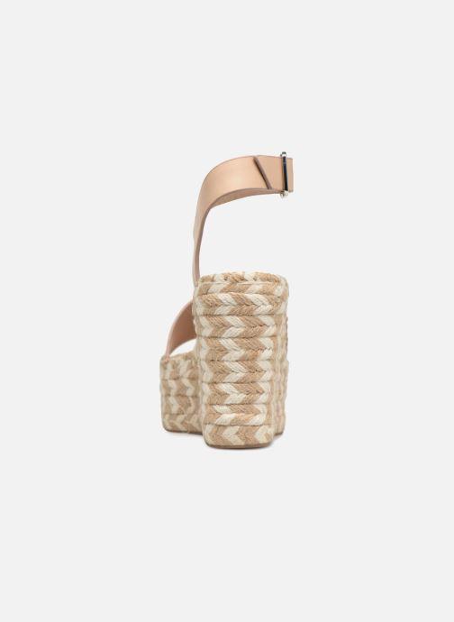 Scarpe di corda Sigerson Morrison Espadrilles compensées beige Beige immagine destra