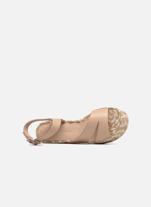 Scarpe di corda Sigerson Morrison Espadrilles compensées beige Beige immagine sinistra