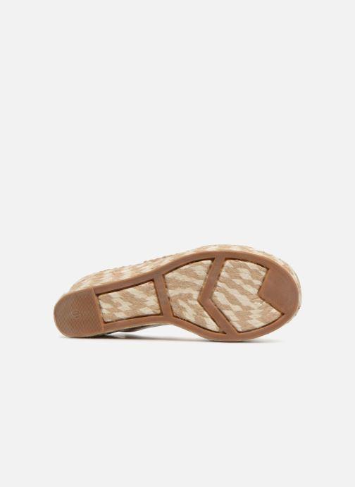 Scarpe di corda Sigerson Morrison Espadrilles compensées beige Beige immagine dall'alto