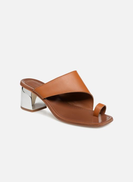 Wedges Dames Mule asymétroque talon bold