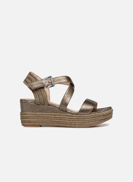 Sandales et nu-pieds Unisa Kacheo Or et bronze vue derrière