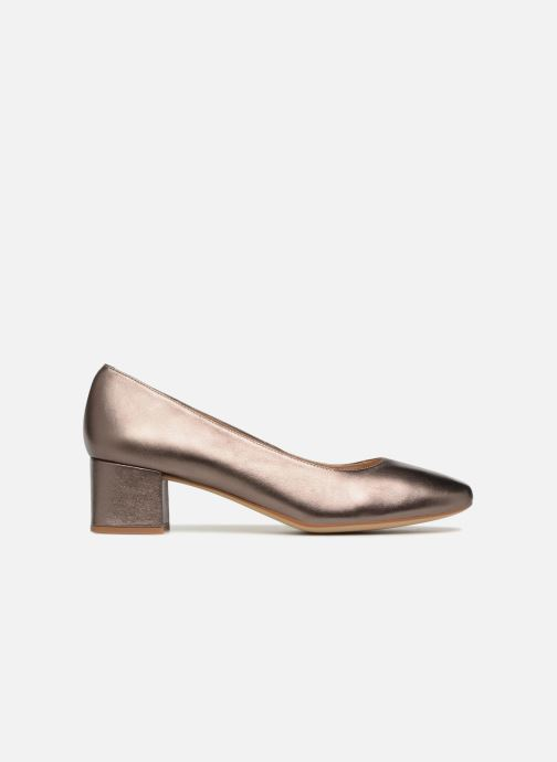 Zapatos de tacón Unisa Kermes Oro y bronce vistra trasera