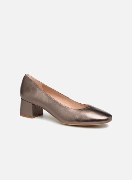 Zapatos de tacón Unisa Kermes Oro y bronce vista de detalle / par