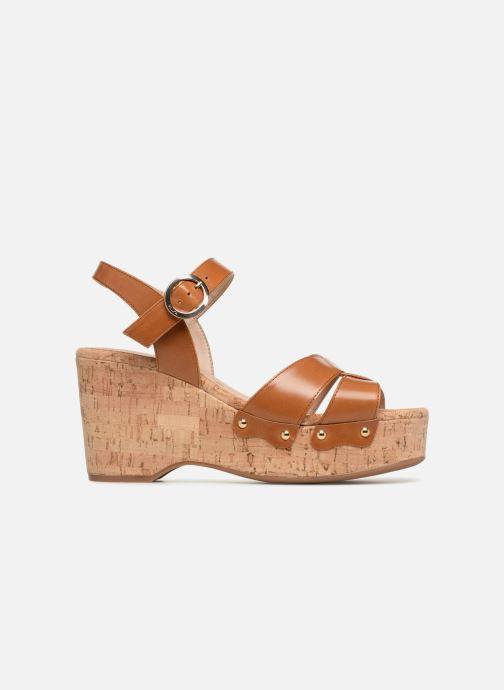 Sandales et nu-pieds Unisa Nuezo Marron vue derrière