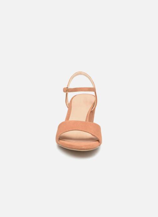Sandales et nu-pieds Unisa Orita Marron vue portées chaussures