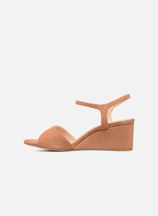 Sandales et nu-pieds Unisa Orita Marron vue face
