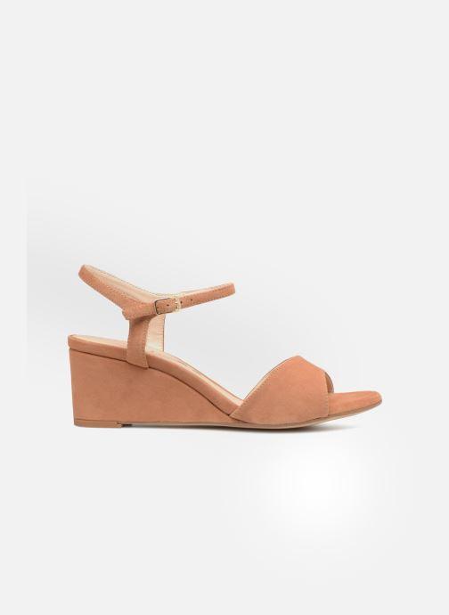 Sandales et nu-pieds Unisa Orita Marron vue derrière