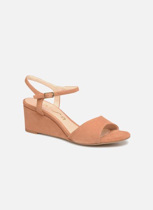 Sandales et nu-pieds Unisa Orita Marron vue détail/paire