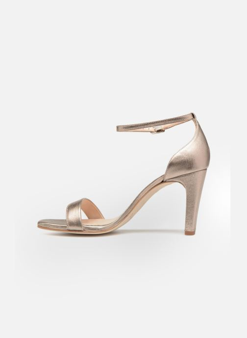 Sandales et nu-pieds Unisa Selma Or et bronze vue face