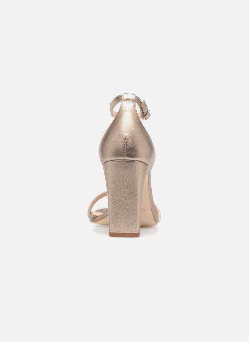 Sandales et nu-pieds Unisa Selma Or et bronze vue droite