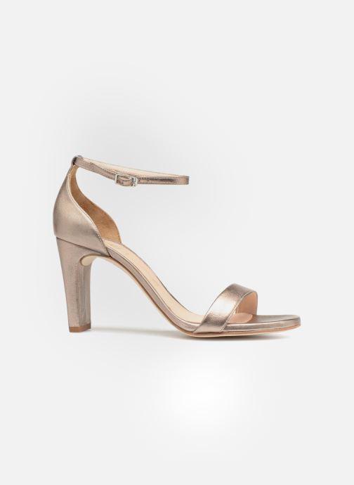 Sandales et nu-pieds Unisa Selma Or et bronze vue derrière