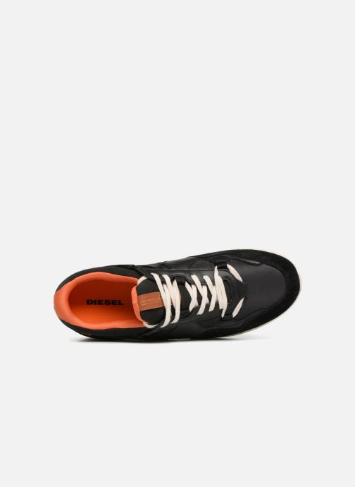 Trainers Diesel Sneakers noir Black view from the left