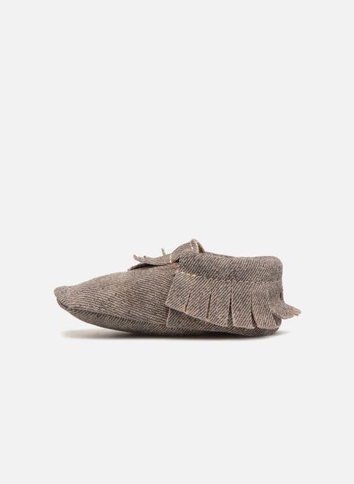 Pantoffels Hippie Ya Mocassins Jean Blauw voorkant