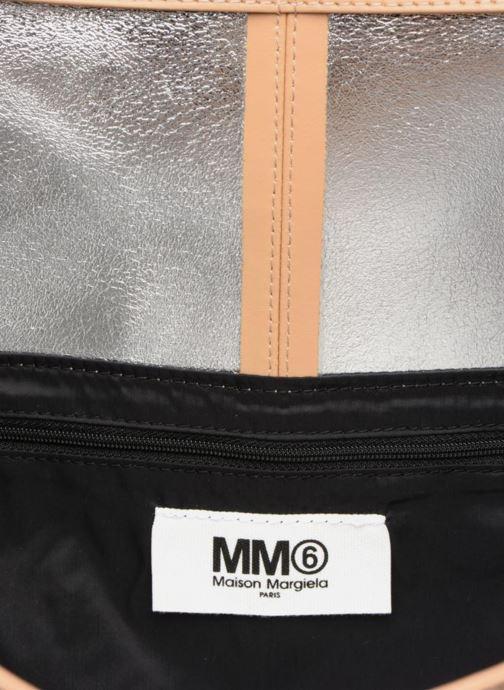Sacs à main MM6 Martin Margiela S41WF0028 Beige vue derrière
