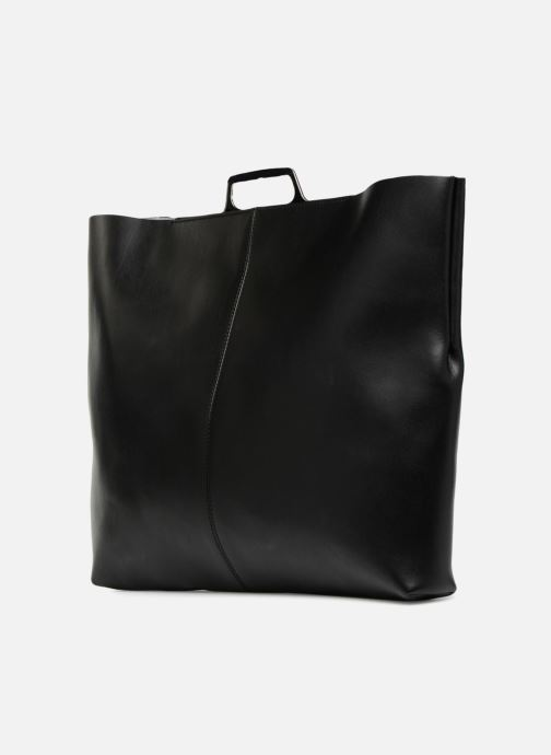 Handtassen MM6 Martin Margiela S41WF0028 Zwart rechts