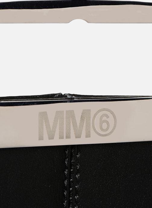 Sacs à main MM6 Martin Margiela S41WF0028 Noir vue gauche