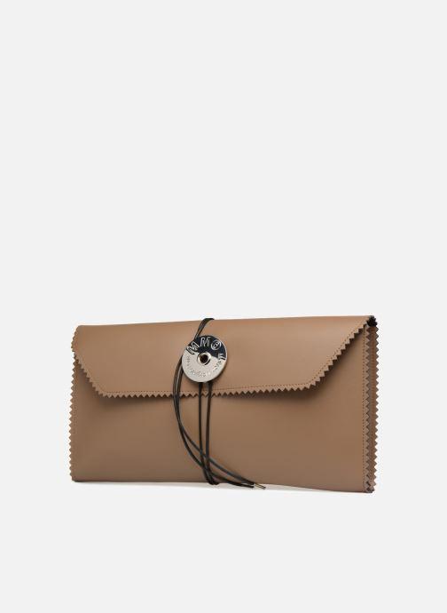 Portemonnaies & Clutches MM6 Martin Margiela S54WF0017 braun schuhe getragen