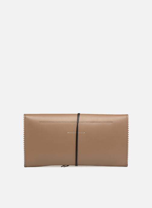 Portemonnaies & Clutches MM6 Martin Margiela S54WF0017 braun ansicht von vorne